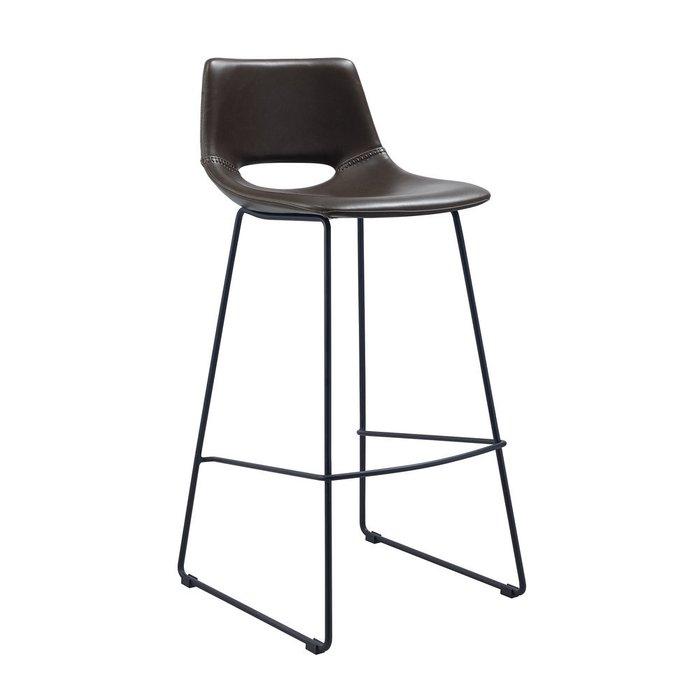 Барный стул Ziegler темно-коричневого цвета
