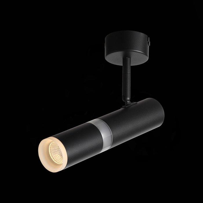 Светильник потолочный Escopio черного цвета