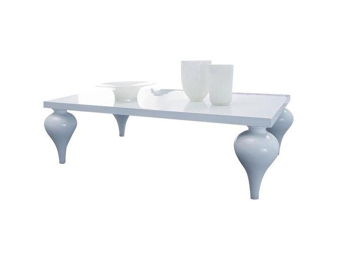 Журнальный столик Palermo белого цвета