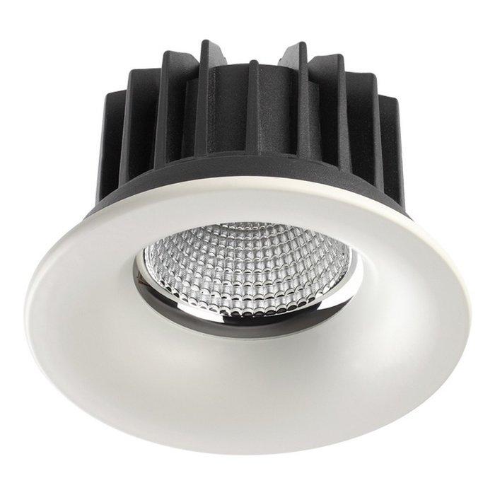 Встраиваемый светодиодный светильник Novotech Drum
