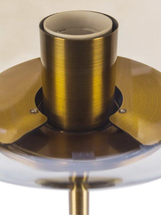 Настольная лампа Preston из металла и стекла