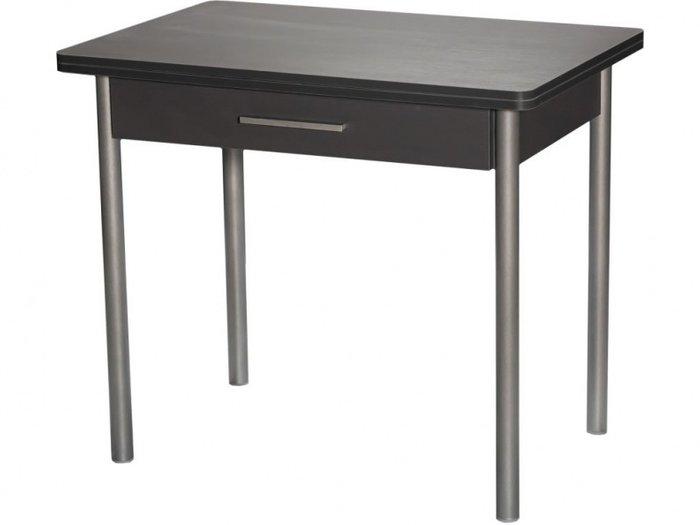 Стол раздвижной черного цвета