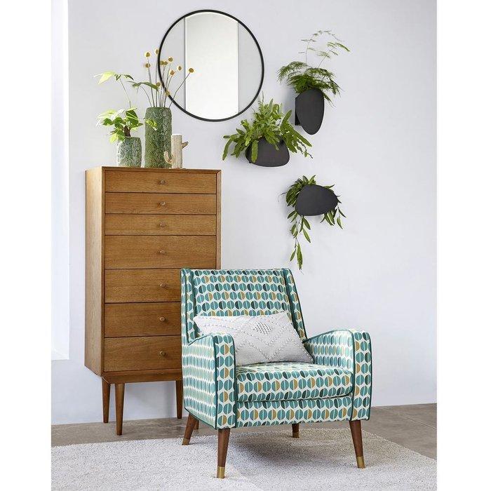 Кресло Wilde Y каштанового цвета