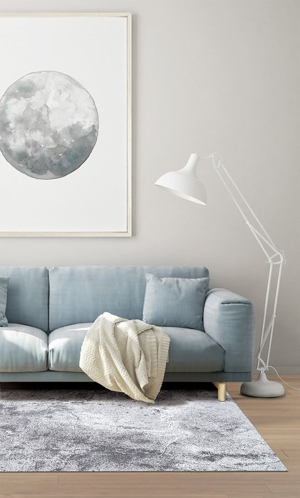 Ковер Moon светло-серого цвета 200х300