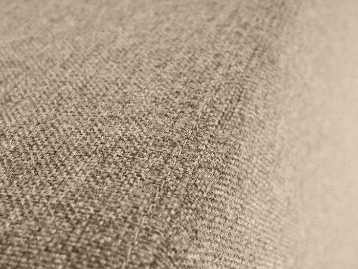 Пуф Kansas серо-бежевого цвета