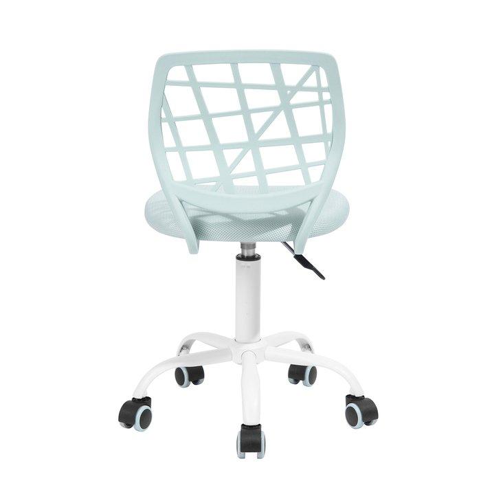 Кресло компьютерное детское Эльза мятного цвета