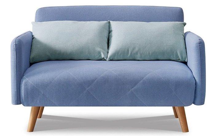 Диван-кровать Cardiff голубого цвета