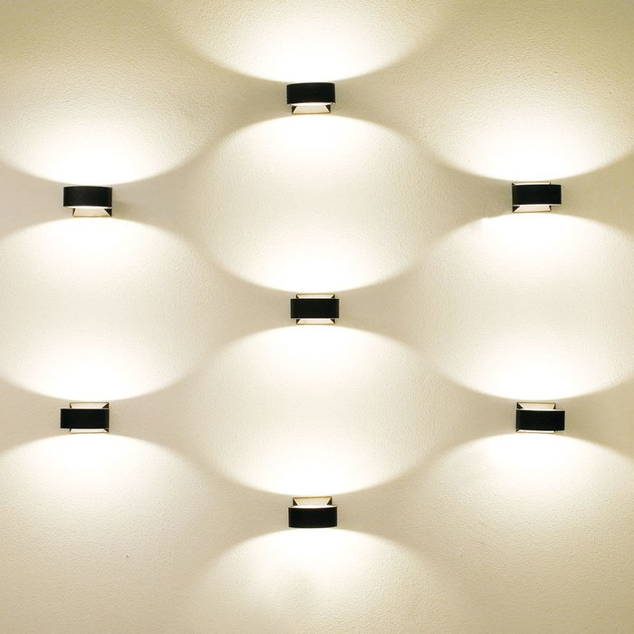 Уличный настенный светодиодный светильник Elektrostandard  Techno LED Blink белый