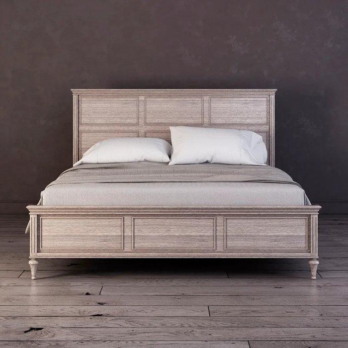 Кровать Riverdi цвета светлый дуб 160х200