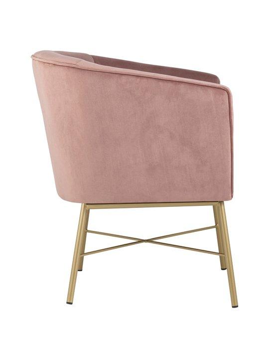 Кресло Шале розового цвета