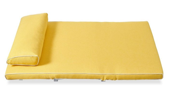 Диван-кровать Denny желтого цвета