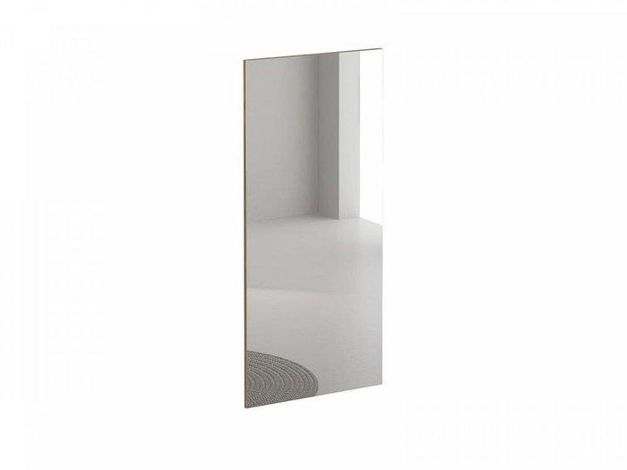 Настенное зеркало Modus с деревянным основанием