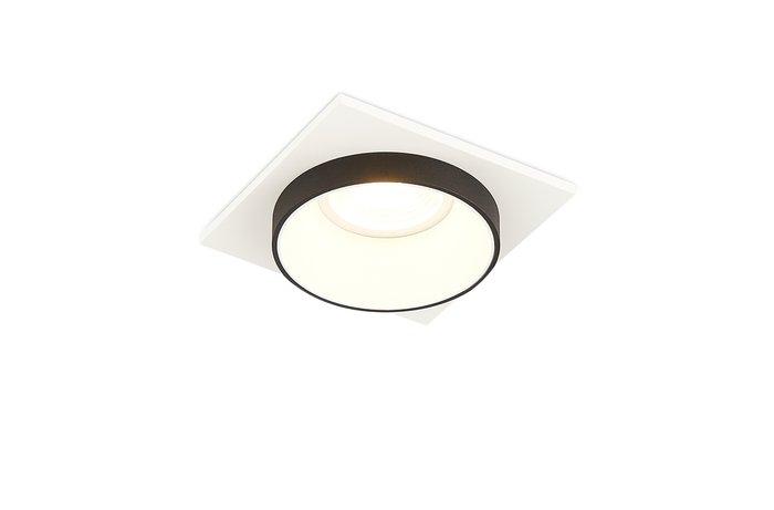 Встроенный светильник Avrila белого цвета с черным