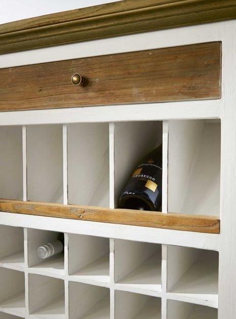 Винный шкаф Дерево с историей с одним ящиком