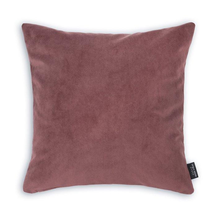Декоративная подушка Ultra Marsala бордового цвета