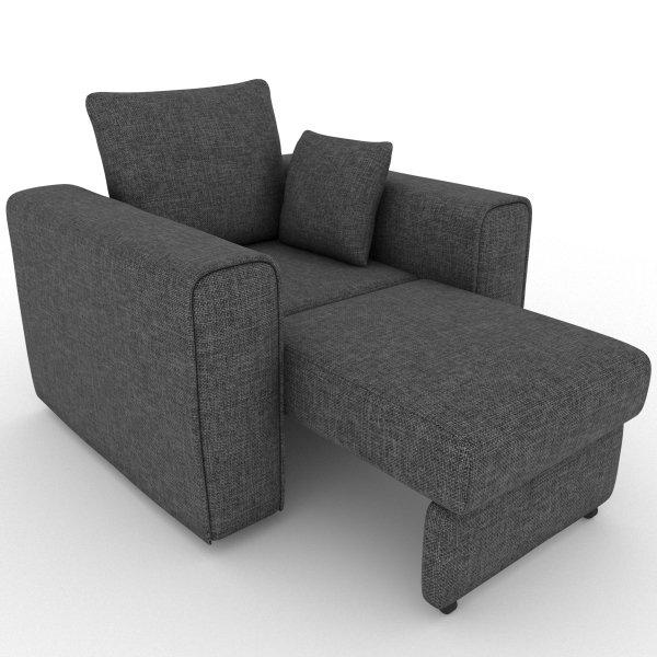 Кресло-кровать Giverny серого цвета