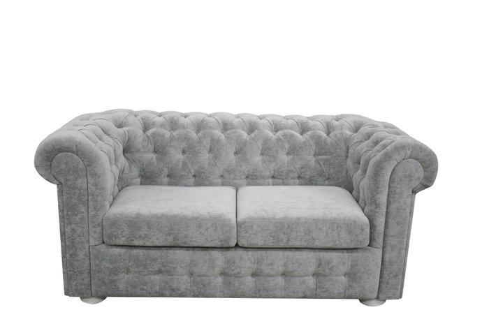 Диван-кровать Бергамо S серого цвета