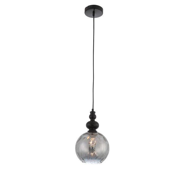 Подвесной светильник Bacineto дымчатого цвета