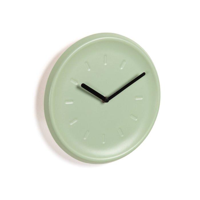 Настенный часы Briar нежно-мятного цвета