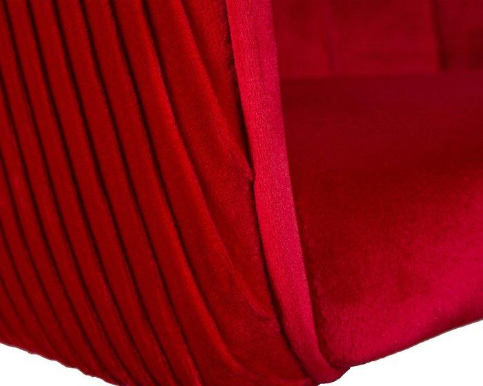 Стул барный Darcy красного цвета