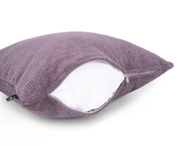Декоративная подушка Dallas plum фиолетового цвета