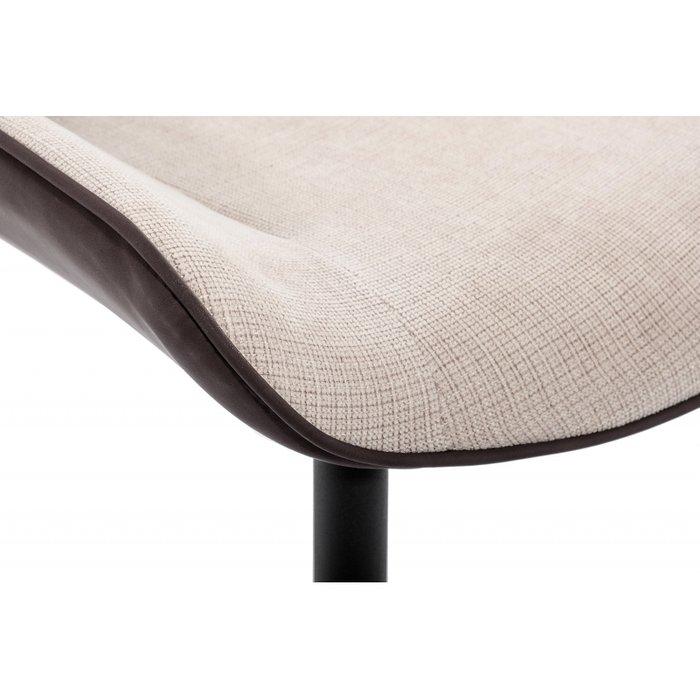 Обеденный стул Seda бежево-коричневого цвета