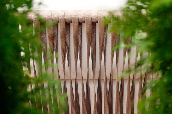Кресло Касабланка серо-коричневого цвета