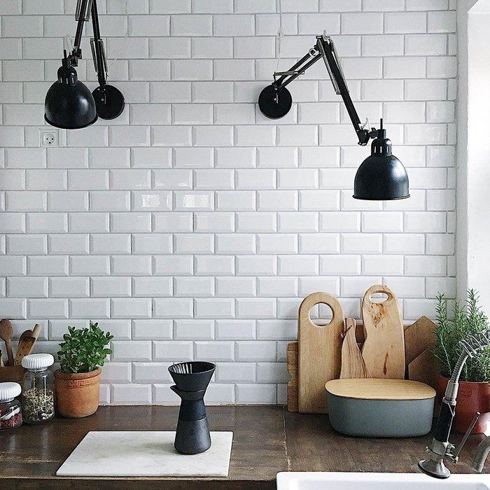 Лампа настенная Job черного матового цвета
