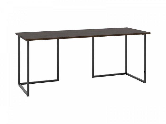 Письменный стол Board 180x70 с основанием черного цвета