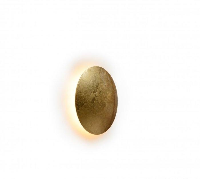 Настенный светильник Lunar золотого цвета