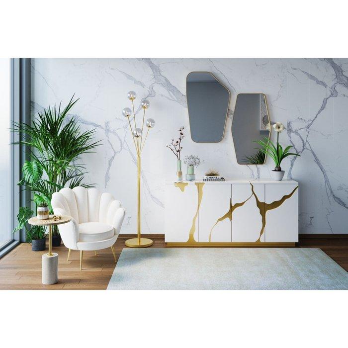 Кресло Water liliy светло-бежевого цвета