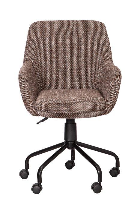 Кресло поворотное Grasso светло-коричневого цвета