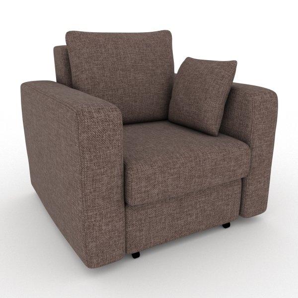 Кресло-кровать Liverpool коричневого цвета