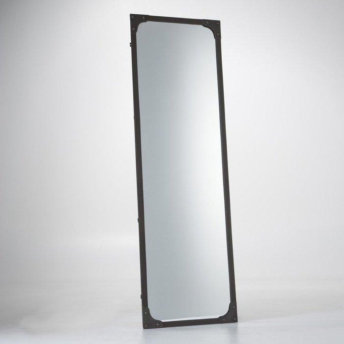 Настенное зеркало Lenaig в металлической раме