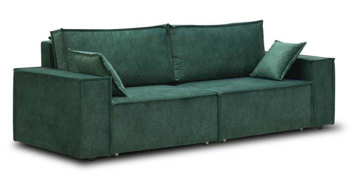 Диван прямой Фабио зеленого цвета