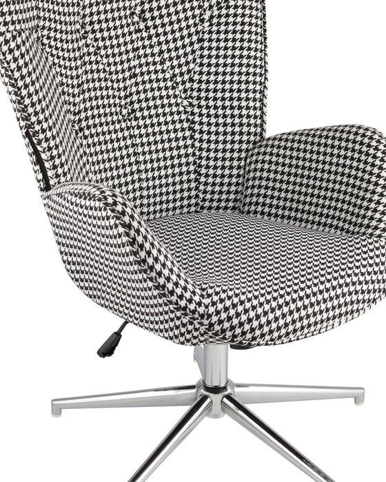Кресло Филадельфия черно-белого цвета