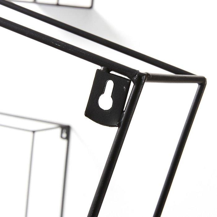 Комплект из трех полок Neth черного цвета