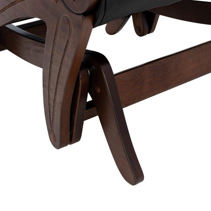 Кресло-глайдер Модель 708 черного цвета