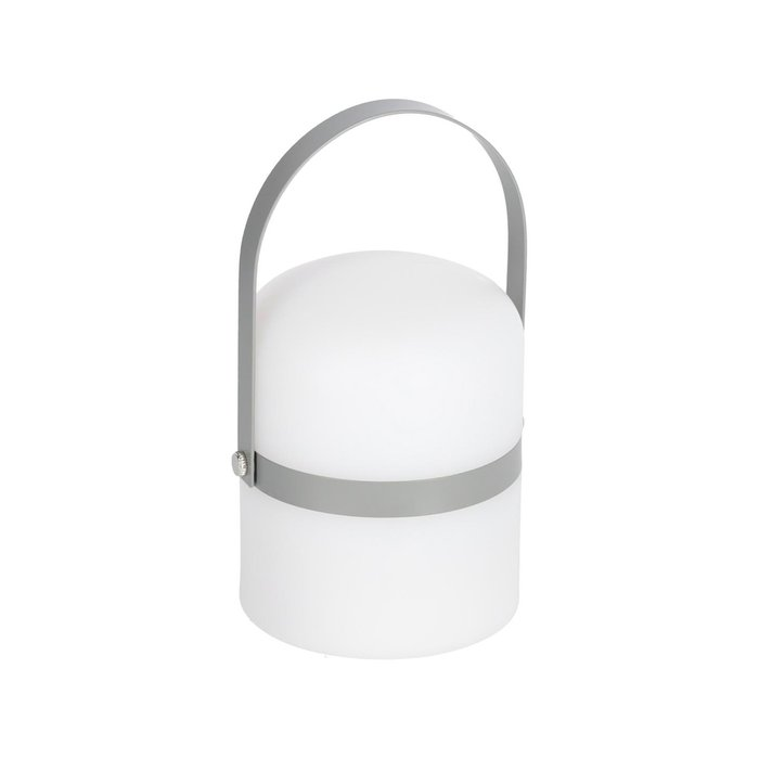 Настольная мини-лампа Lame бело-серого цвета