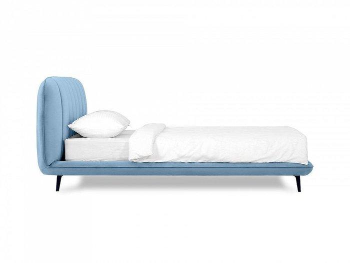 Кровать Amsterdam 160х200 голубого цвета