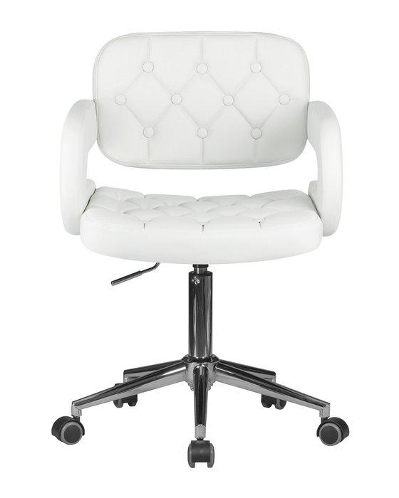 Офисное кресло для персонала Larry белого цвета