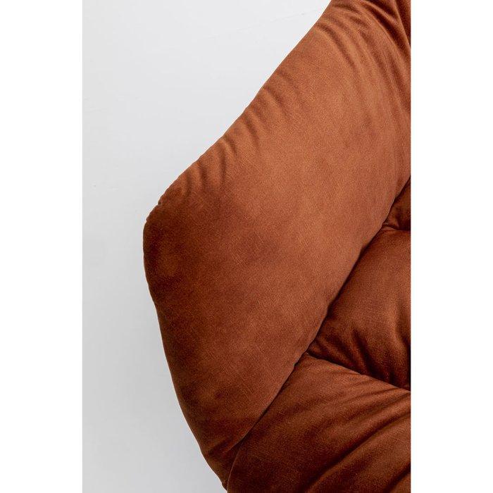Кресло вращающееся Bristol коричневого цвета