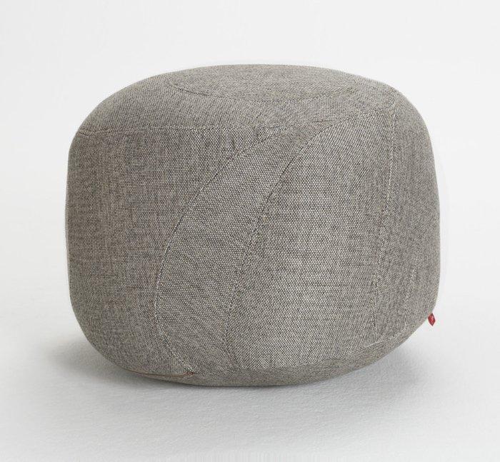 Бескаркасный пуфик Jamni Seat серого цвета