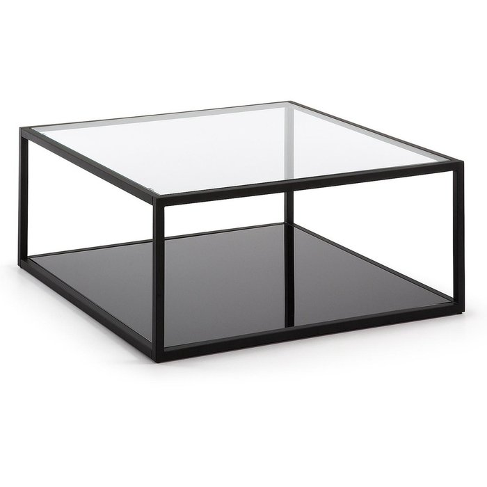 Журнальный столик Julia Grup Greenhill со стеклянной столешницей