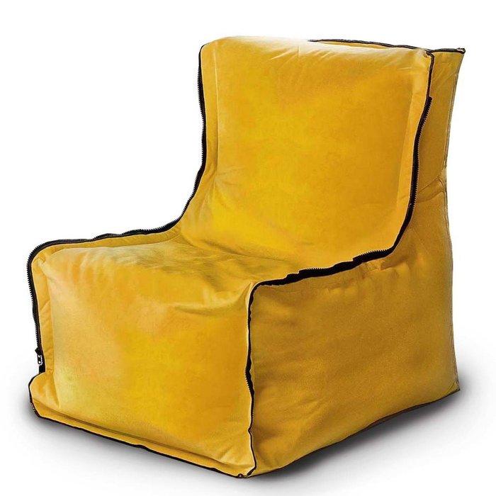 Кресло-мешок Лофт Дижонская горчица ярко-желтого цвета