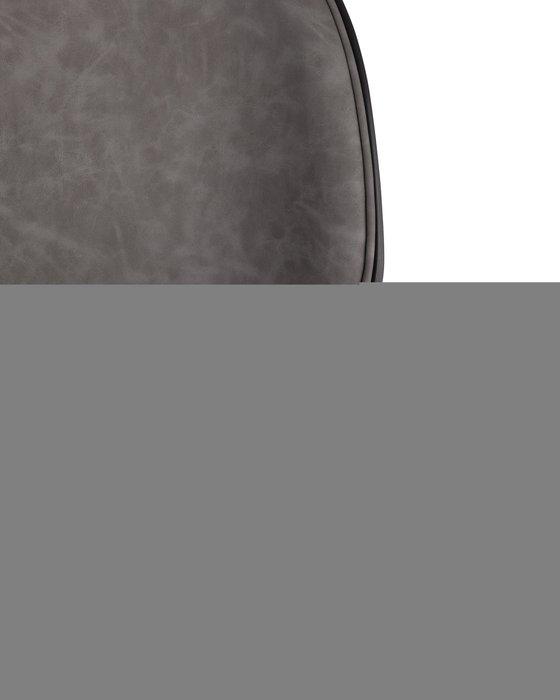 Стул барный Beetle PU серого цвета