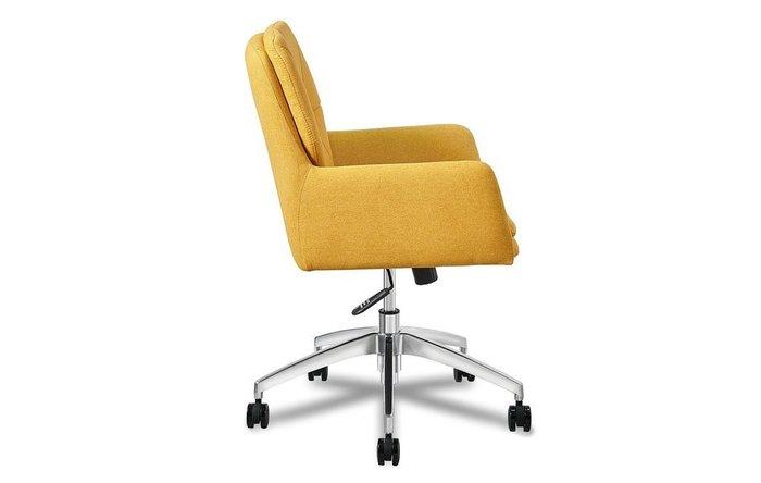 Кресло Shannon желтого цвета