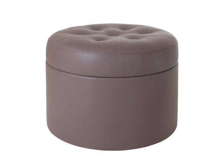 """Пуф """"Barrel"""" большой с декоративной строчкой и пуговицами"""