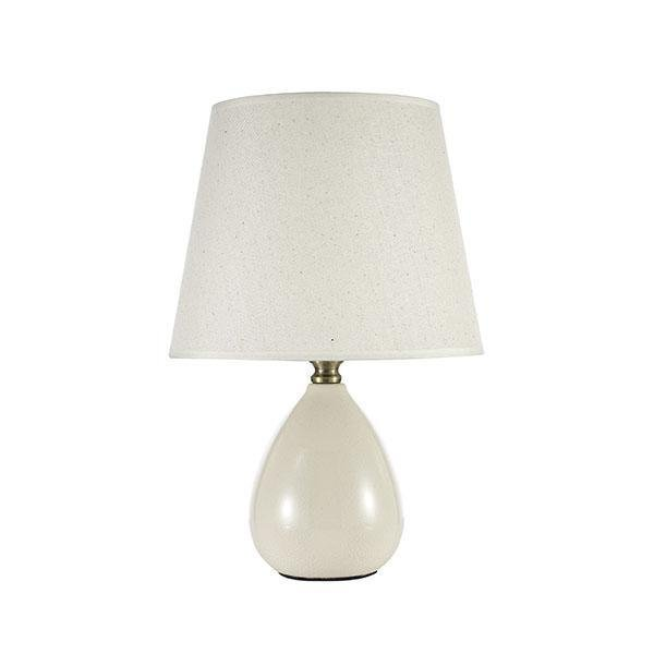 Настольная лампа Riccardo с белым абажуром