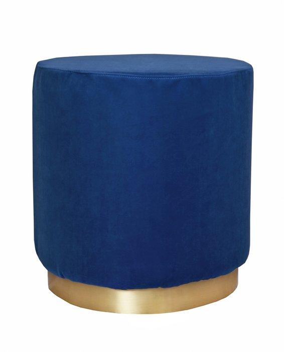 Пуф Topper oval blue